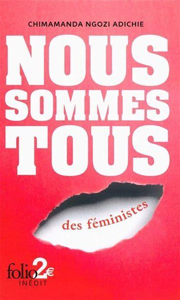 La couverture du livre Nous sommes tous des féministes de Chimamanda Ngozi Adichie