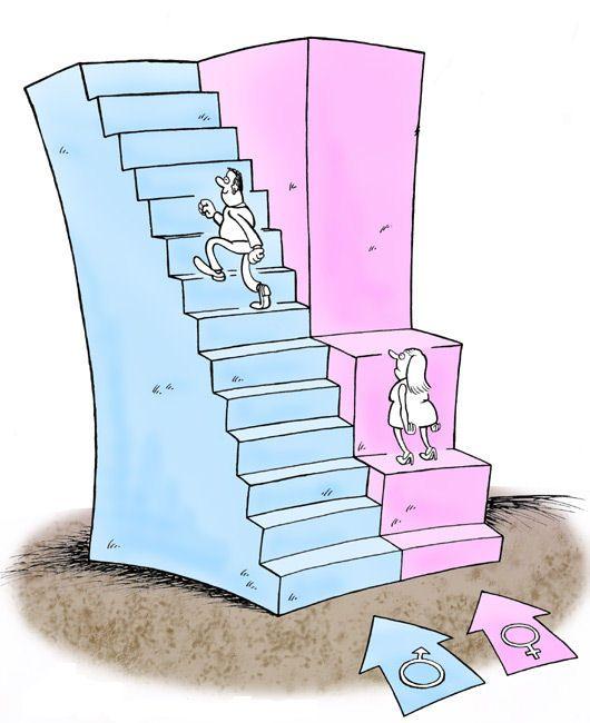 Illustration des inégalités hommes-femmes